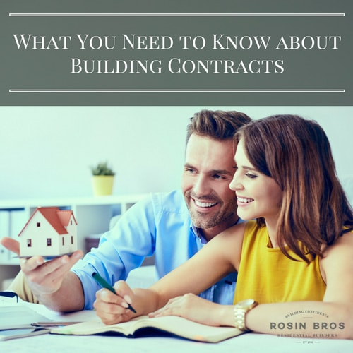 building contracts canberra