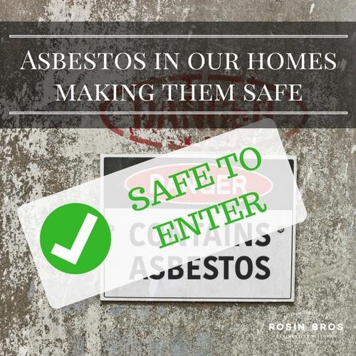 asbestos in a knock down rebuild