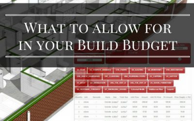 What to allow for in your build budget