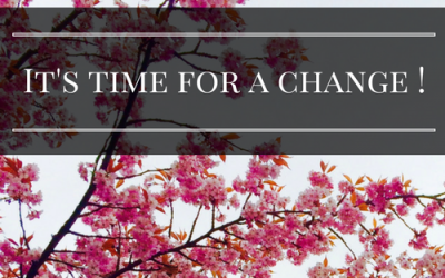 It's Time for a Change!