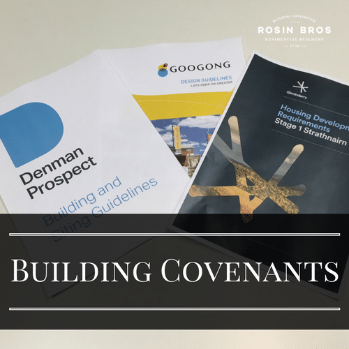 What is a Building Covenant and Why Should You Care?